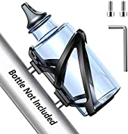 TEUMI Bike Water Bottle Holder, Premium PC MTB Bicycle Water Bottle Holder Cage Bracket Fit 22-26 oz Bottle wi