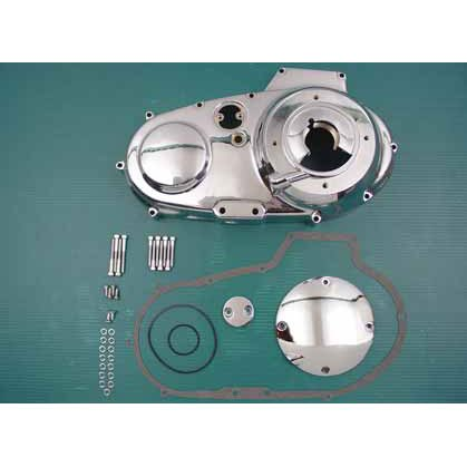 Generic Chrome Outer Primary Cover Kit for Harley 91-93 Sportster (C01120237)