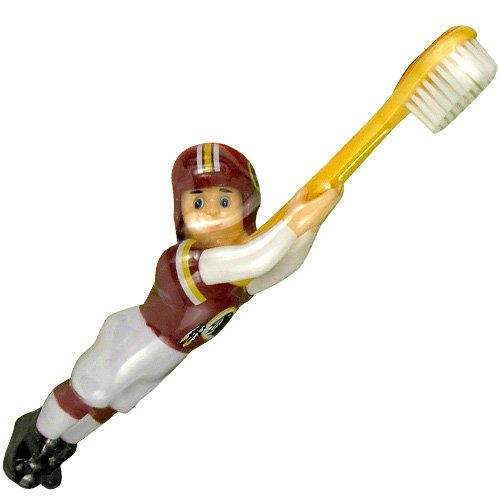 Washington Redskins Toothbrush - NFL Washington Redskins Football Player Toothbrush