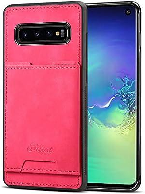 Amazon.com: Funda para Galaxy S10 Samsung, ranura para ...