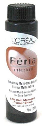 loreal-feria-color-554-24oz-rich-mahogany-copper-brown-3-pack