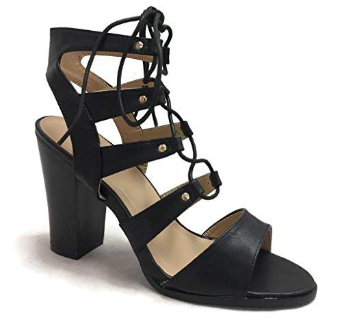 Womens Cutout Sandals Gladiator Slingback