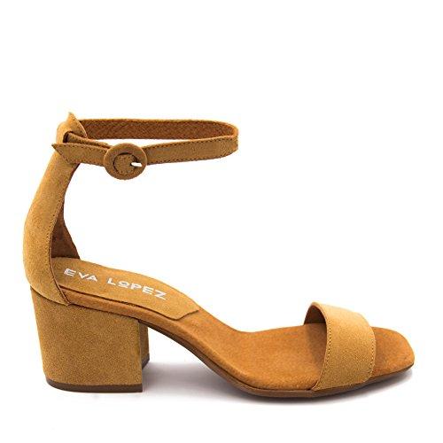 Eva López Women's Fashion Sandals Camel