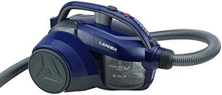 Hoover Lander LA20 Bolsa, Aspirador ciclónico, Cepillo parquet, Suelos Duros y alfombras, Accesorios Integrados, 700 ...