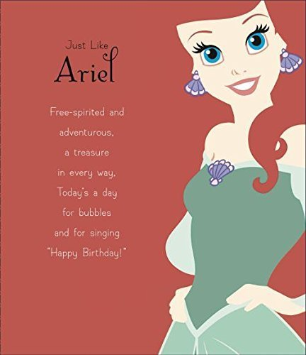 Amazon Ariel Disney Princess Birthday Card Office Products