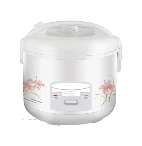 Meglio Deluxe 20-Cup (Cooked) (10-Cup UNCOOKED) Automatic Rice Cooker, Warmer & Soup Maker (Deluxe 10 Cup Rice Cooker compare prices)