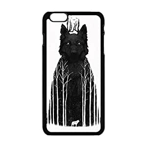 Generic Wolf Art Paintings Case for Iphone 6/6s Plus 5.5 Inch