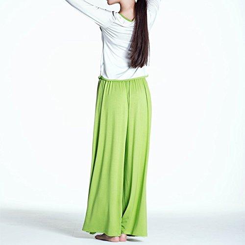 Bluelover Abbigliamento Pantaloni Fitness Sciolti Esercizio Signora Donne S Verde Yoga Grigio Set Palestra Sport Top E 8Wr7f8qPwU