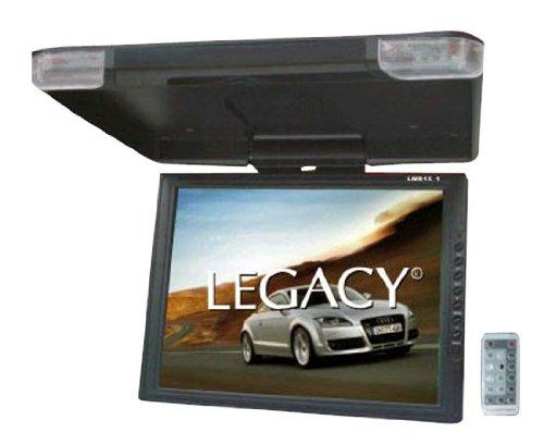 "2) LEGACY LMR15.1 15"" LCD TFT Car/SUV/TRUCK Flip Down Roof Mount Monitors TV IR"