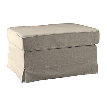 Amazonde Pimp Your Couch Ektorp Hocker Bezug Stoff Bombay Macciato