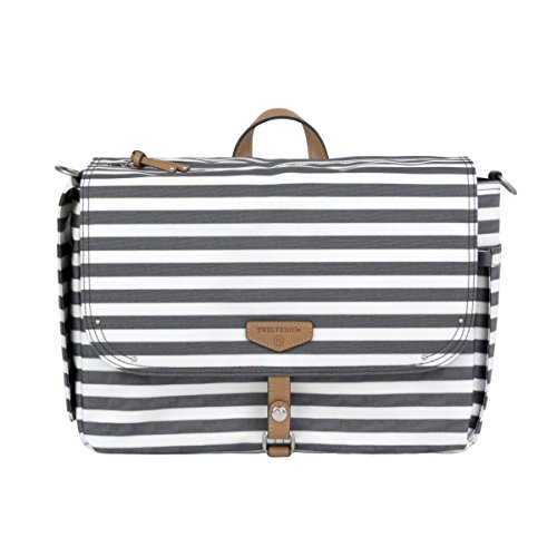 TWELVElittle On-The-Go Stroller Caddy, Stripe Print