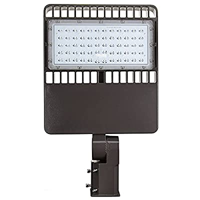 LED Street Light, Phenas Road Lamp, LED Parking Lot Lights Pole LED Outdoor Site and Area Light, Shoe Box Light, 33000L, 4800-5300k, ROHS ETL DLC CE, 5 Years Warranty