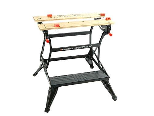 Black & Decker WM626 Dual Height 775mm - 595mm Tough Multi-Use Folding (Dual Height Workbench)