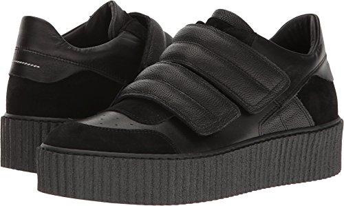 Maison Margiela MM6 Women's Two Band Platform Sneaker Black 9 B(M) - Mm Margiela