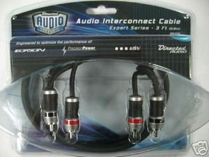 6' RCA Audio Interconnect Cable EXPERT Series by DEI - Expert Series Rca Interconnect Cables