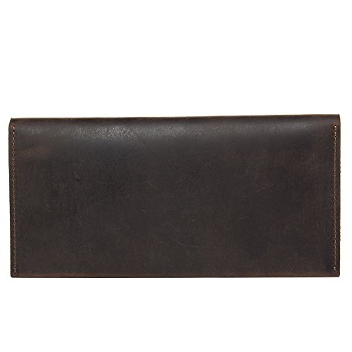 WESTBRONCO for Wallet Men Wallets Coffee Leather Credit Bifold Coin 7 Best Purse Hunter Card rxSwrqnC