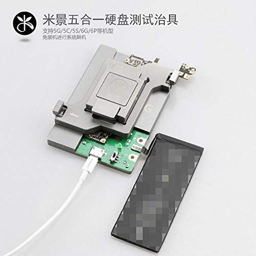 Gimax 5 in 1 HDD Logic Board Repair hard disk tool fixture Tester For iphone 5G 5S 5C 6G 6P SE NAND Flash Memory CHIP IC Motherboard