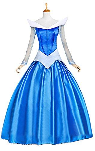 Ace Deluxe Adult Women's Sleeping Beauty Princess Costume Dress Custom Made (S) (Custom Made Disney Princess Costumes)