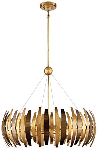 Metropolitan N7839-659 Manitou Chandelier, 8-Light 480 Total Watts, Ardor Gold