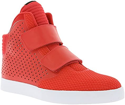 competitive price cd7be fa70a Amazon.com  NIKE Flystepper 2K3 PRM Mens Hi Top Trainers 677473 Sneakers  Shoes (UK 11 US 12 EU 46, Action Red White 602)  Sports   Outdoors