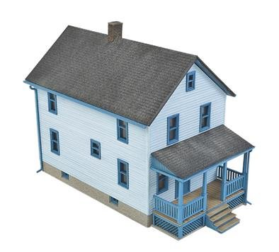 Walthers, Inc. Story Frame House Kit, 1/16