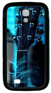 Cool Painting Samsung Galaxy I9500 Case and Cover -Guitar head PC Rubber Soft Case Back Cover for Samsung Galaxy S4/I9500