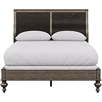 Amazon Com Ethan Allen Drake Bed King Java Kitchen