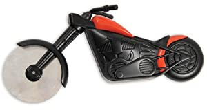 Pizzaschneider Chopper Motorbike Pizza Cutter Schw