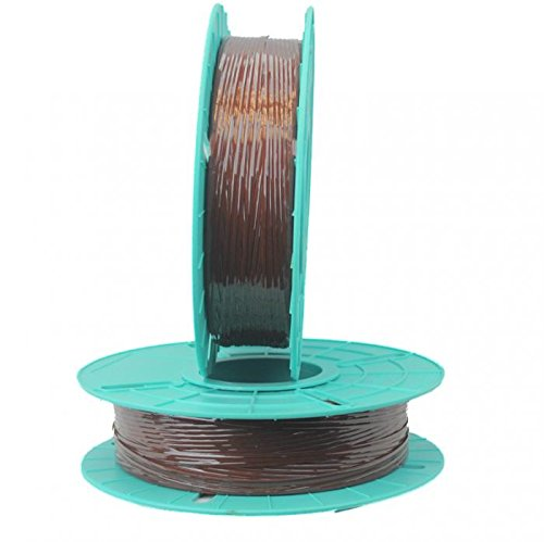 2.500 ft. Standard Paper / Plastic Tan Twist Tie Ribbons (10 Spools) - 03-2500-Tan