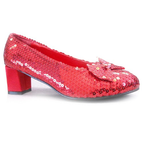 Women's Red Sequin Shoes S ()