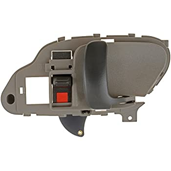 Drivers Inside Inner Tan Door Handle Replacement For Chevrolet GMC Pickup Truck SUV 15708043 - фото 5
