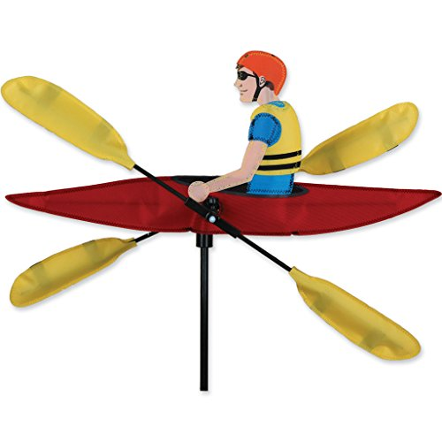 Whirligig Spinner - 20 In. Kayak Spinner - Metal Whirligigs