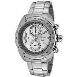 Seiko Men's SNN177P Chronograph Stainless Steel Watch -