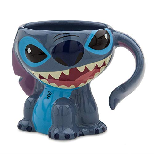 Disney Parks Stitch Figurine Ceramic Mug