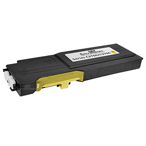 Speedy Inks - Compatible Dell 331-8430 MD8G4 Extra High Yield Yellow Toner Cartridge for use in Dell 3760DN, 3760N, & 3765dnf