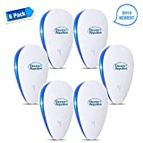 YOOKOON Ultrasonic Pest Repeller,Pest Control Ultrasonic Repellent, Non-toxic Spider Repellent,Pest Repellent Plug in Spider Repellent Indoor for Mosquito Spider Ant Mice Roach other Insects(6 packs)