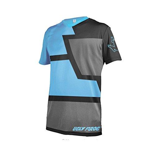 Uglyfrog D14 Designs Bike Wear Men's MTB Jersey Downhill Tops Rage Cycling Top Cycle Short/Long Sleeve Spring/Summer Mountain Bike Shirt