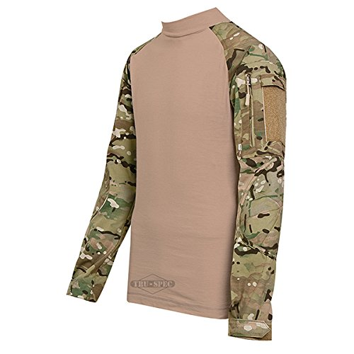 Cotton Utility Shirt Patch (Tru-Spec TRU Combat Shirt Nylon-Cotton Multicam/CT L-Reg 2534005)