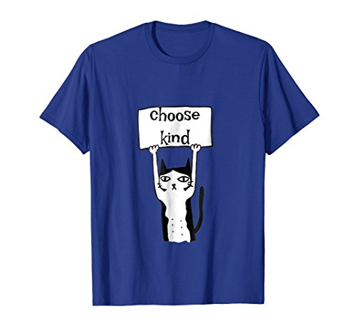 Choose Kind Cute Cat Shirt Anti Bullying T-Shirt