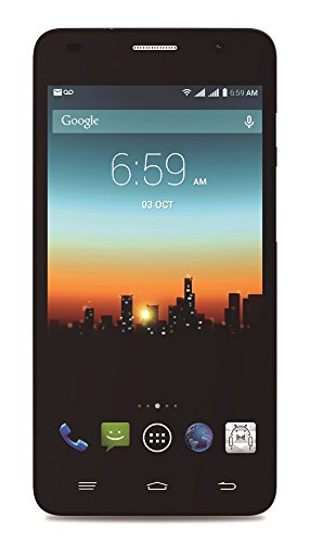 """POSH MOBILE KICK PRO 4G LTE ANDROID GSM UNLOCKED DUAL SIM 5.0"""" HD SMARTPHONE with SLIM 8.6MM design, FULL-sized HD display, 8MP Camera and 8GB of Storage. 1 Year warranty. (Model#: L520 SPACE GRAY)"""