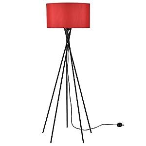 [lux.pro] lampadaire – Red Mikado – (1 x socle E27)(155 cm x Ø 48 cm) lampe sur pied lampe de plancher lampe lampe de…