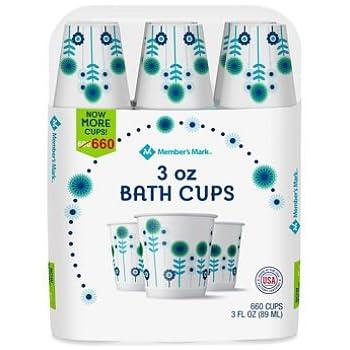 Amazon com: Dixie Bath Cups Coordinating Designs, 3 oz