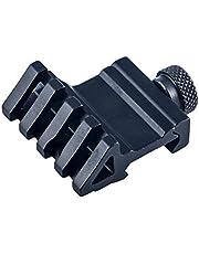FOCUHUNTER Tactical 45 Degree Offset Rail Mount 4 Slot 20 mm Weaver/Picatinny Adaptador de Liberación Rápida para Caza y Tiro