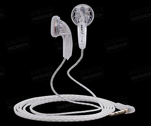 New Seahf AWK-F32T In Ear Earphone 32ohms Earbud Flat Head Plug Earplugs DIY HIFI Bass Headset Kill Monk Earbud PK2 - Days Kill To 3 Sunglasses