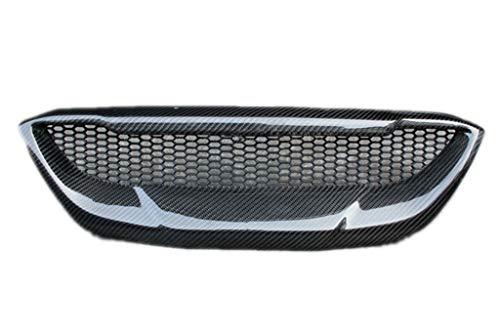 Eppar New Carbon Fiber Front Grille for Hyundai Genesis Coupe 2008-2012 (1PC)