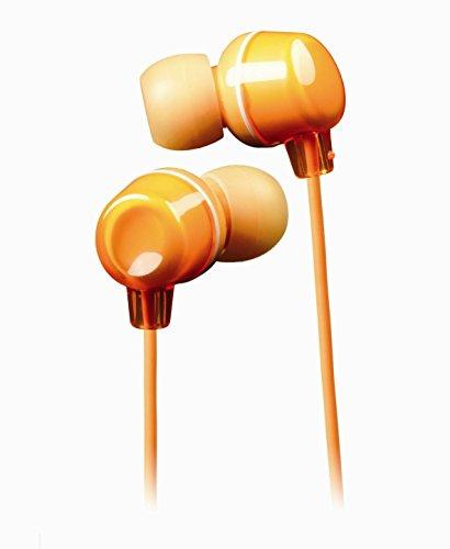 JVC Victor In-ear Stereo Headphones   HA-FX12-D Orange (Japanese Import)