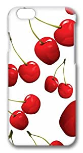 Cherries8 Polycarbonate Hard Case Cover for iPhone 6 3D