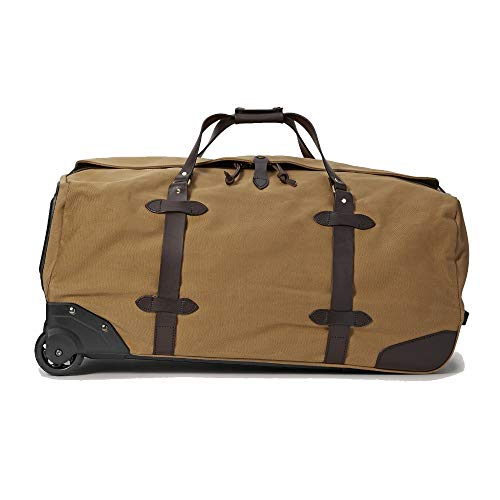 Filson Rugged Twill Rolling Duffle Bag (Large, Tan) ()