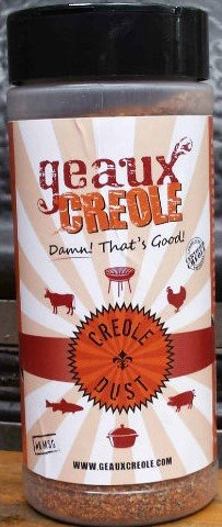 Chinese Roast Pork - Geaux Creole, Creole Dust BBQ Rub and Marinade, 10oz
