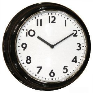 Zone Shield C1512 Additional Wall Clock with SleuthGear Covert Camera